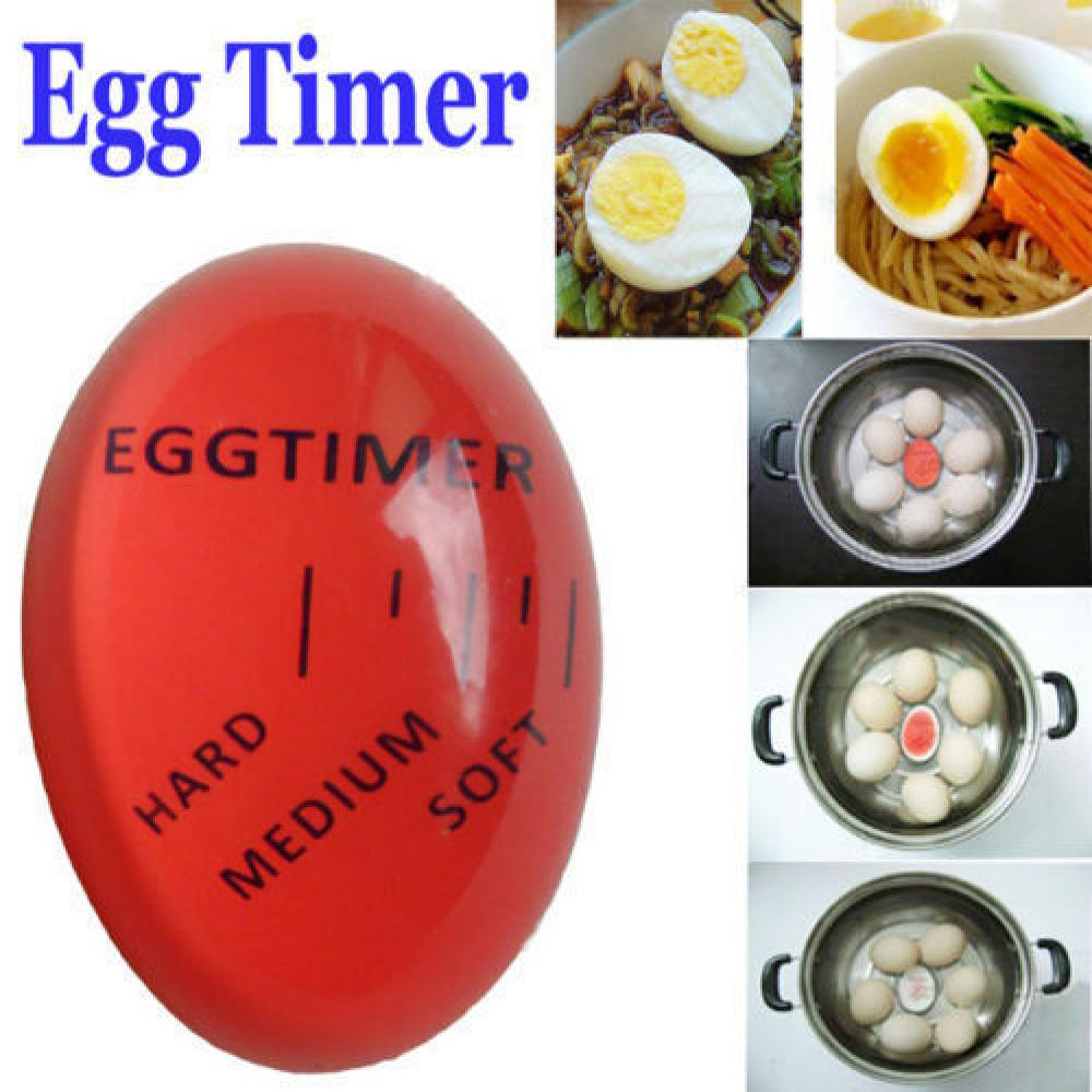1pcs Egg Timer Kitchen Supplies Egg Perfect Color Changing Perfect Boiled Eggs Cooking Helper