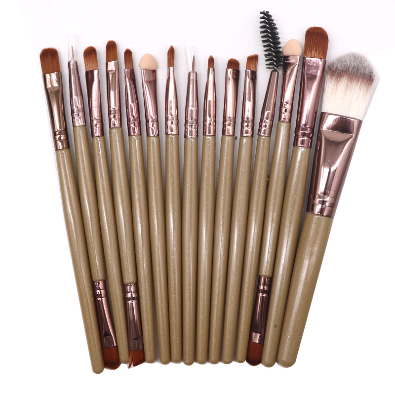 Professional Makeup Brush Set Makeup Tools Kit Face Foundation Powder Lip Eyeshadow Soft Synthetic Hair Brushes Kit 2set/Lot professional eyeshadow brush makeup kit designer cosmetic eye makeup tools with luxury case synthetic