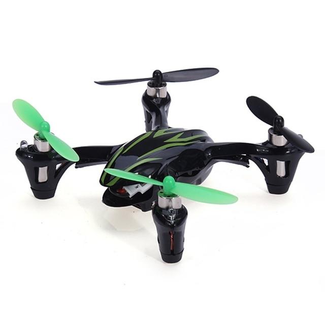 Alta calidad Hubsan X4 H107C 2.4 G 4CH RC Quadcopter con cámara de 2MP RTF helicóptero RC juguetes de Control remoto Mode2