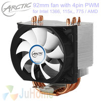 Original ARCTIC Freezer 13, 4pin PWM 92mm fan TDP 140W cooling for Intel LGA1151 115x 775 for AMD CPU cooler fan radiator