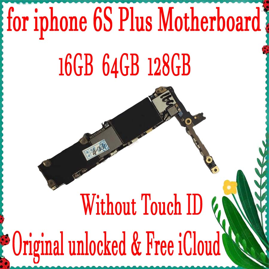 16GB 64GB 128GB Factory unlocked for iphone 6s plus Motherboard,Original for iphone 6s Plus Mainboard without Touch ID with Chip16GB 64GB 128GB Factory unlocked for iphone 6s plus Motherboard,Original for iphone 6s Plus Mainboard without Touch ID with Chip