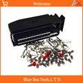 Автомобильный разъем системы управления ЭБУ 52 Pin 1J0 906 380 B  разъем для двигателя/трансмиттера для VW Audi и т. Д.