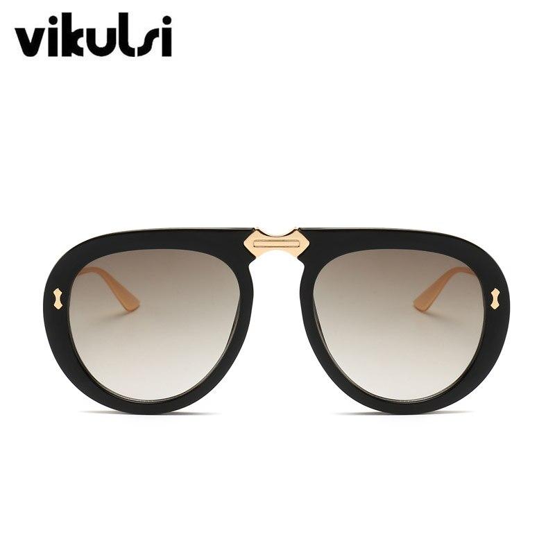 83ffc729a62e4 Unisex Brand Designer Sunglasses Women 2019 Vintage Luxury Oversized Clear  Aviator Sun Glasses For Female UV400 Oculos De Sol-in Sunglasses from  Apparel ...