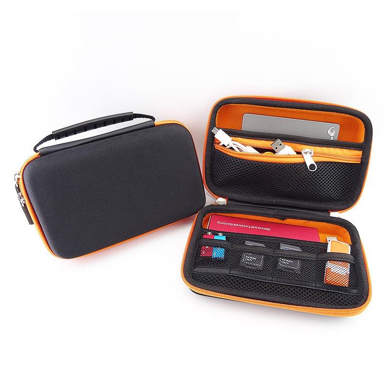 Bolsa de almacenamiento de viaje portátil con asa de silicona para - Organización y almacenamiento en la casa