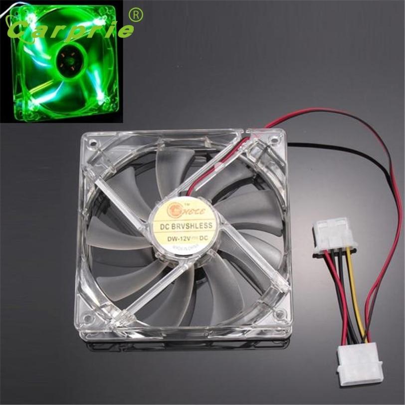 CARPRIE Green Quad 4-LED Light Neon Cooler 120 x 120 x 25 mm - Componentes informáticos - foto 3