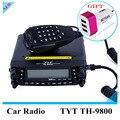 Профессиональный TYT TH-9800 Mobile Radio 29/50/144/430 МГц Quad Полосы Мобильный Трансивер 50 Вт Скремблер крест-band Repeater Радио