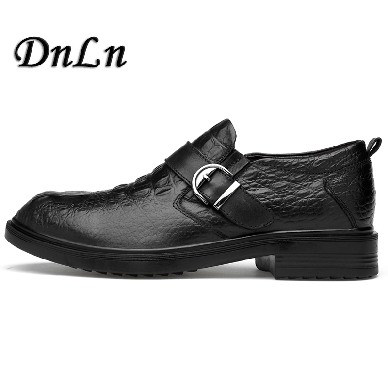 Slip On Formal Shoes Elevator Genuine Leather Oxfords Round Toe Men Dress Shoes Business Wedding Shoes For Male ZT40