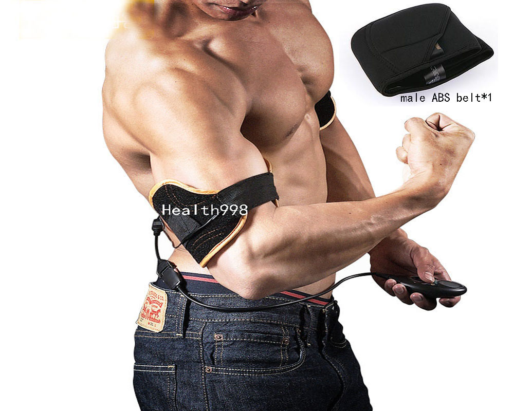 Rechargeable Male Arms Flex Pro Biceps Triceps Muscle Training System Belt + male ABS BeltRechargeable Male Arms Flex Pro Biceps Triceps Muscle Training System Belt + male ABS Belt