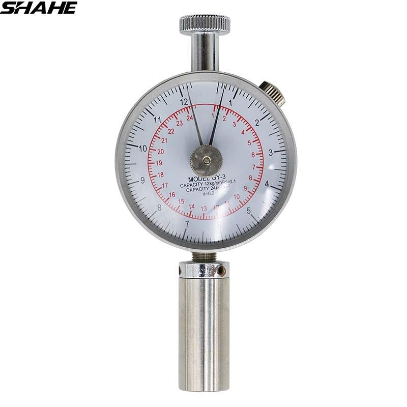 GY-3 Fruit Sclerometer penetrometer Fruit Hardness Testers mitech portable hardness testers mh310