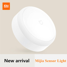 New Xiaomi Sensor Yeelight Auto-Sensor Lamp Adjustable Brightness Infrared Photosensit Control For Mi Smart home