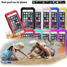 Mobile Phone Cases 2014 Newest Durable Dirt Shockproof Silicone Waterproof Cover Case Bag 4.7 Inch for Apple iPhone 6 Case