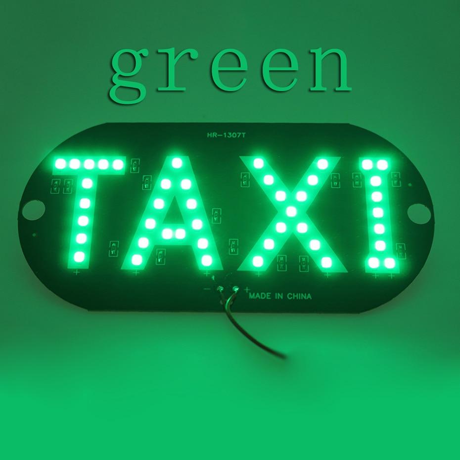 LVTUSI 1pc Taksi LIBRE Lampalı LED Lisenziya Plitəli Avtomobil - Avtomobil işıqları - Fotoqrafiya 4