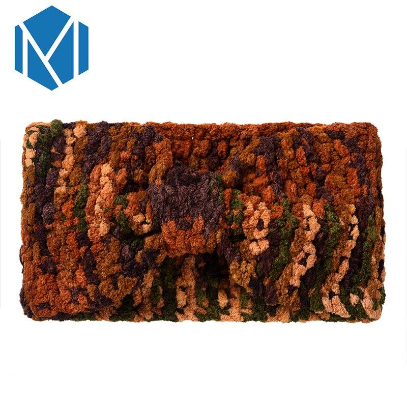 M MISM 6 patrones mujeres hembra la venda de punto elástico del pelo ...