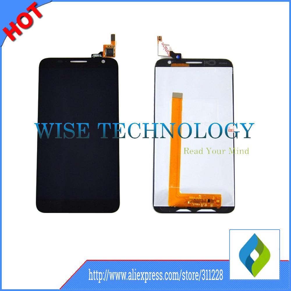 Original para alcatel one touch idol 2 s ot6050 6050 assemblyblack pantalla lcd