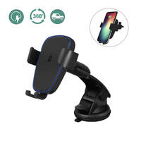 Qi Wireless Car Charger Air Vent Phone Holder Fast Charging Stand For IPhone X 8 Plus