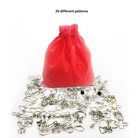 Brain Teaser Metal Wire IQ Puzzle Ring Test Mind Game Toy for Adults,New Style Nine Serial Kids Toys 36 Pcs/Set