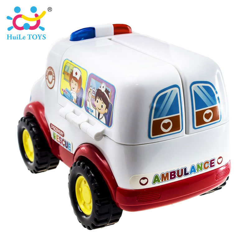 2-in-1-Ambulance-Doctor-Vehicle-Set-Baby-Toys-Pretend-Doctor-Set-and-Medical-Kit-Inside-Bump-and-Go-Toy-Car-with-Lights-Sounds-4