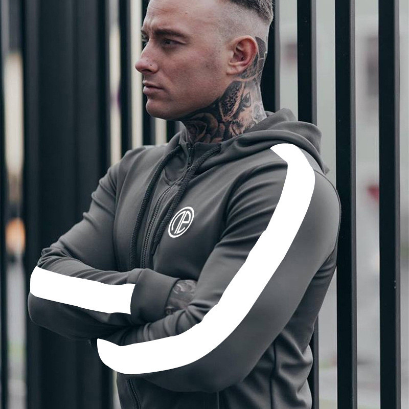 2018 Men Gyms Hoodies Gyms Fitness Bodybuilding Sweatshirt Crossfit Pullover Sportswear Male Workout Hooded Jacket Clothing