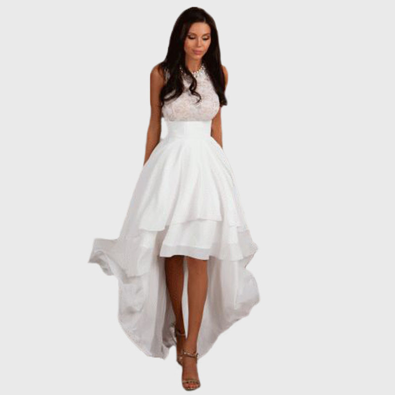 Awesome Gorgeous White Cocktail Dresses For Women  Women Elite
