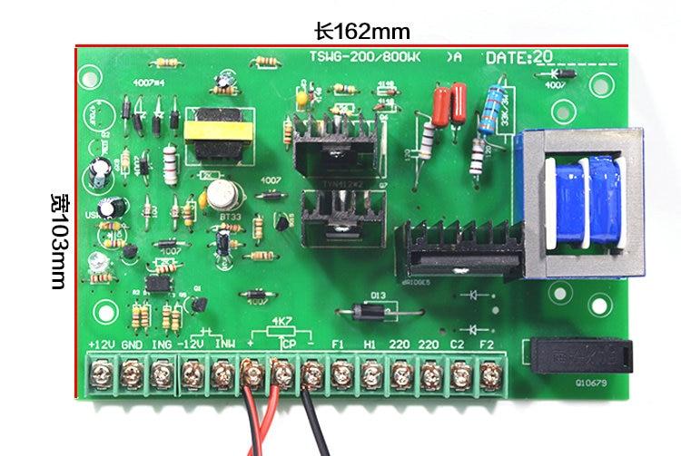 все цены на DC 220V permanent magnetmotor speed control board 1HP controller 750W high power motor drive governor онлайн