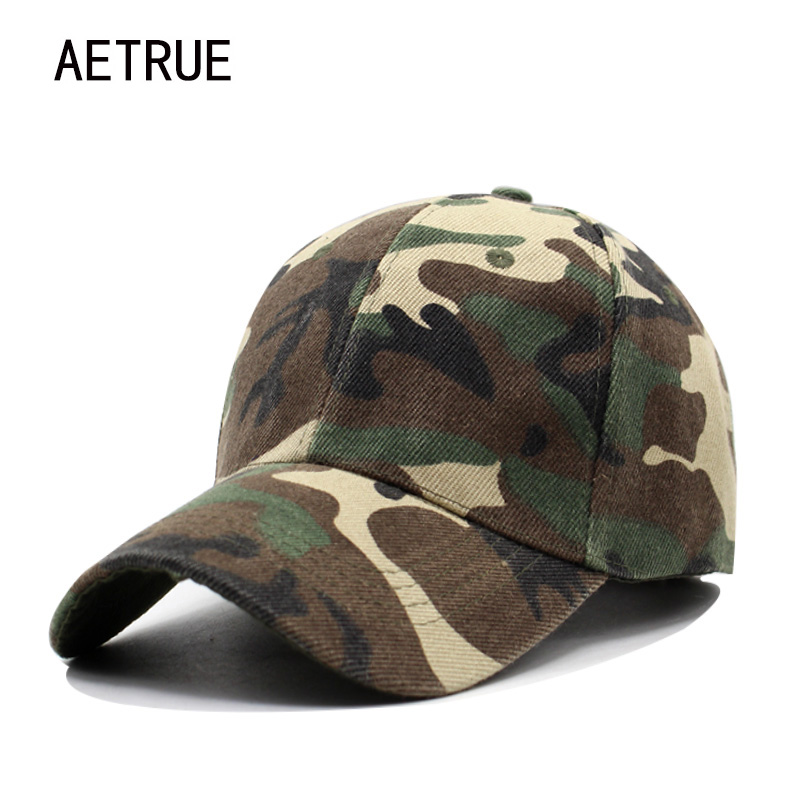 AETRUE Snapback Men Baseball Cap Women Casquette Caps Hats For Men Bone Sunscreen Gorras Casual Camouflage Adjustable Sun Hat aetrue winter hats skullies beanies hat winter beanies for men women wool scarf caps balaclava mask gorras bonnet knitted hat