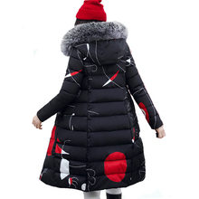 FRAGRANSTAN Winter Women Thick Warm Hooded Jacket Laser Padded Coat Female Harajuku