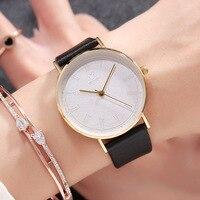 2018 Top Luxury Brands Watches For Women Durable Quartz Wrist Watch Ladies Leather Watches Strap Female Clock Horloges Vrouwen