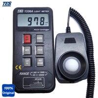 Portátil Digital Medidor de Luz Lux Medidor Tester TES1336A|tester meter|tester digital|tester light -