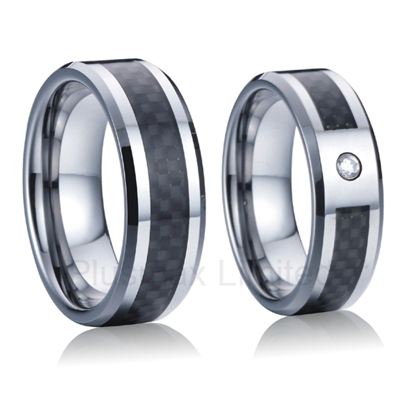 anel masculino classic custom black carbon fiber titanium wedding band rings for men and women alliance anel custom titanium steel jewelry masterfully designed black 8mm wedding rings for men and women