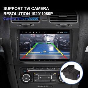 Image 3 - Isudar H53 4G Android Auto Radio For VW/Volkswagen/PASSAT/POLO/Golf/Skoda/Seat Car Multimedia GPS 1 Din 8 Core RAM 4G DVR Camera