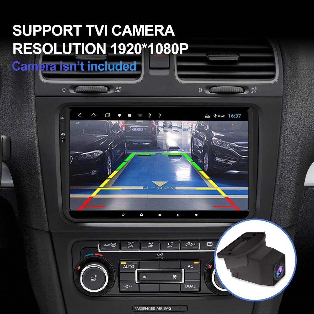 Isudar H53 4G Android Car Multimedia 1 Din Stereo per Volkswagen/Vw/Polo/Passat/Golf /Skoda/Fabia Ips Gps Radio Dvr 1080P Della Macchina Fotografica - 3