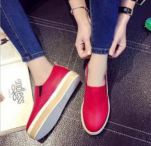 5-9 big yards for women's shoes in the fall and winter of 2016 new fashion Korea sponge tide girls comfortable casual shoes