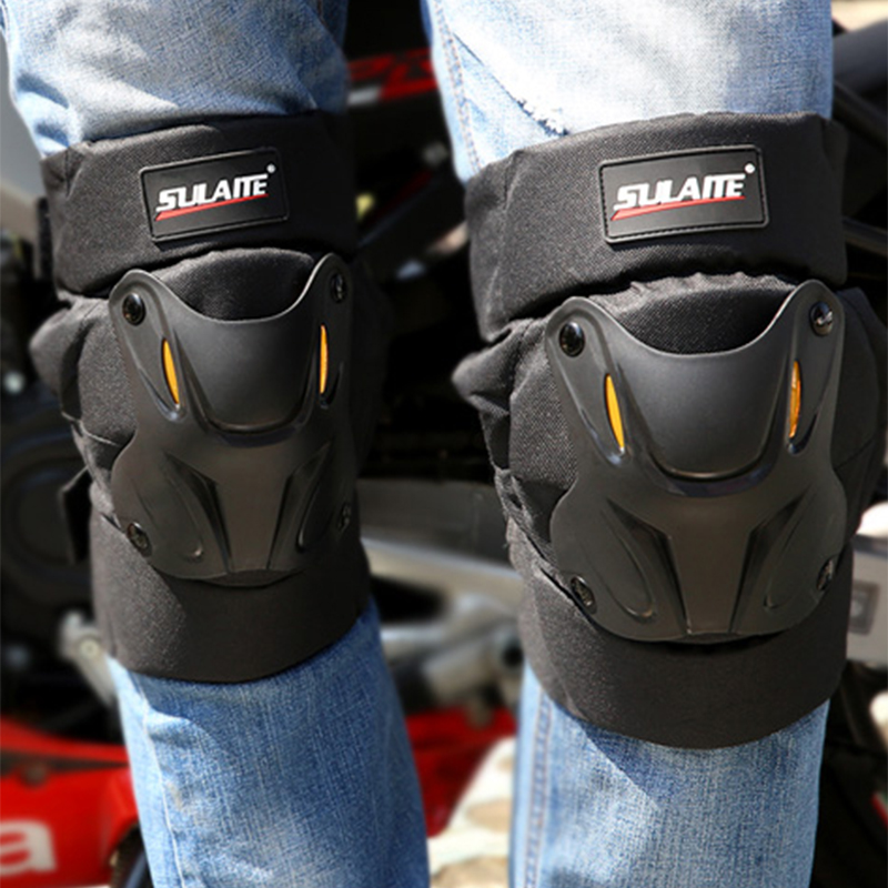 Sulaite Motorcycle Knee Pads Motocross Protector Moto Motorbike Skiing Protective Gear MTB ATV Motorcycle Protection