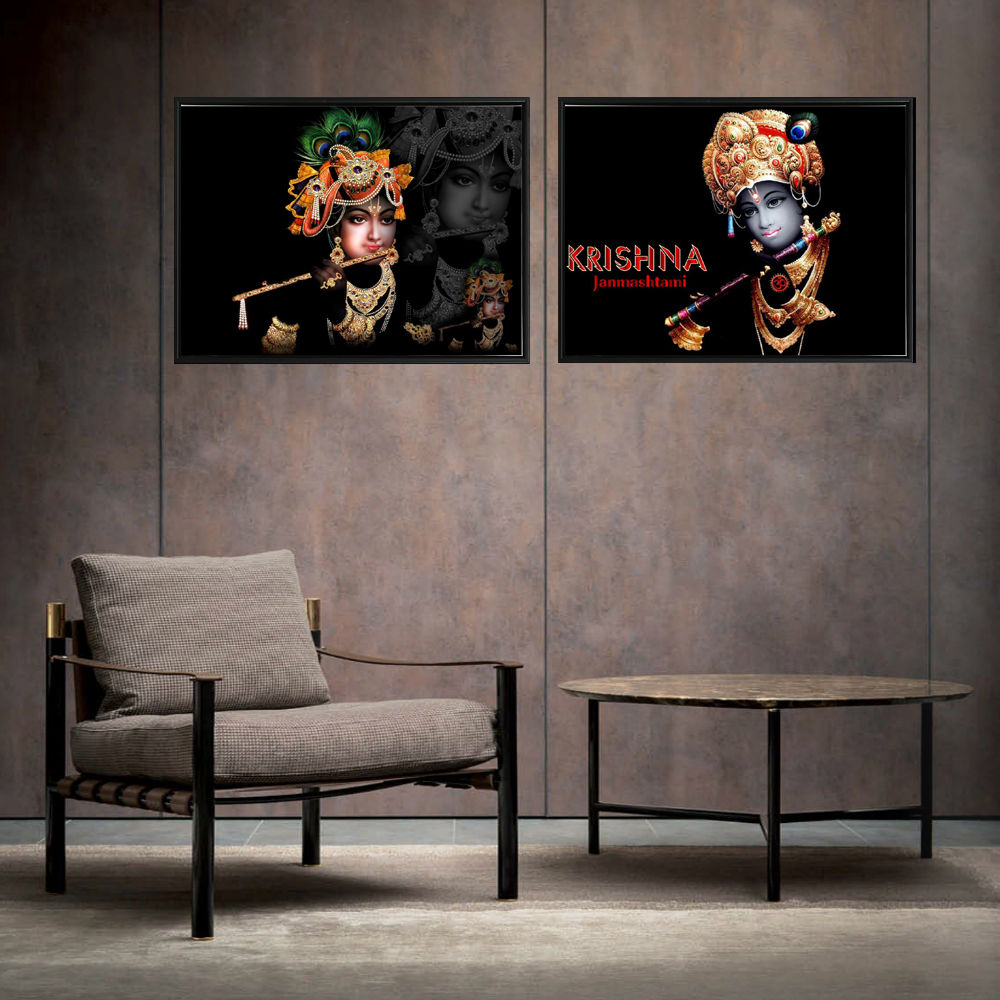 KRISHNA Indian God Posters For Home Decor Hinduism Portrait Canvas Prints Religion Classical Wall Art KRISHNA Cuadros Pictures web page