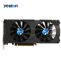 Yeston GTX 1050Ti Graphics Card 4G DDR5 7008 MHz Double Fan PCI Express 3 0 128bit