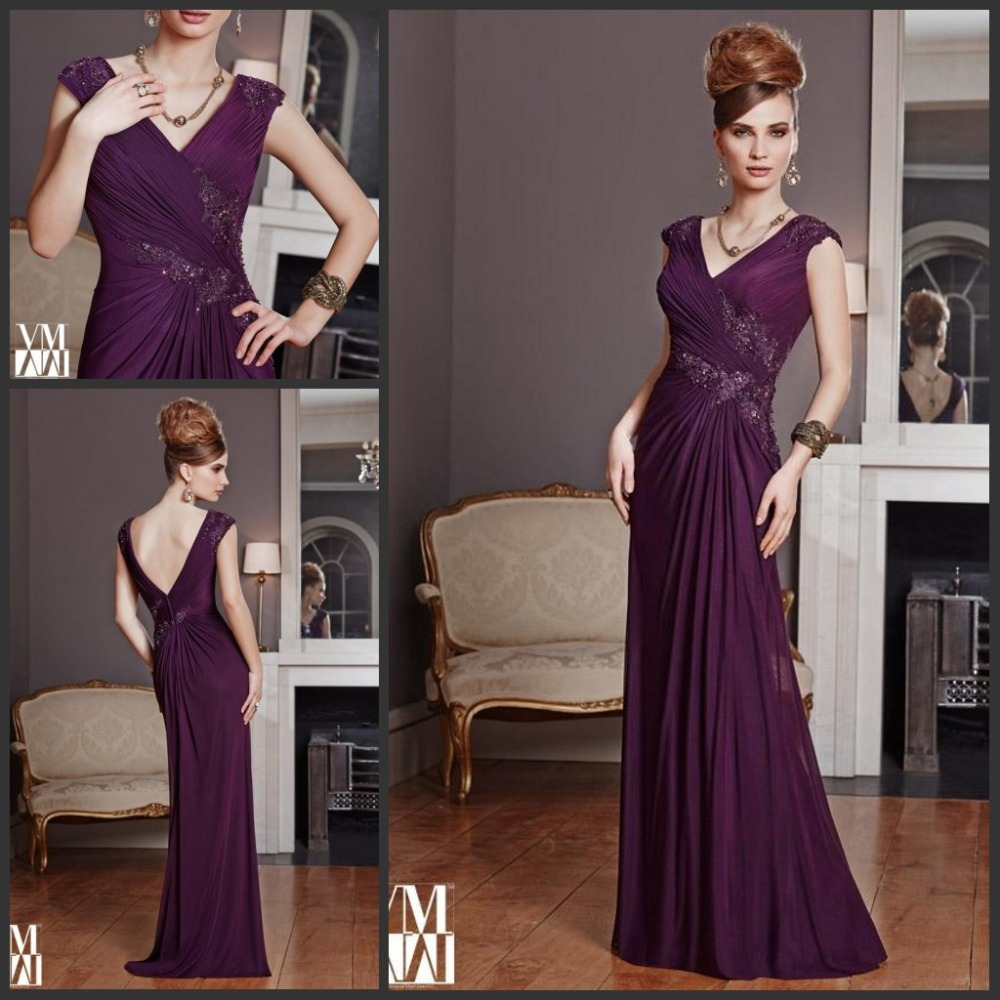 4069c0d89e1 Purple Mother Of The Bride Dresses Floor Length - Data Dynamic AG