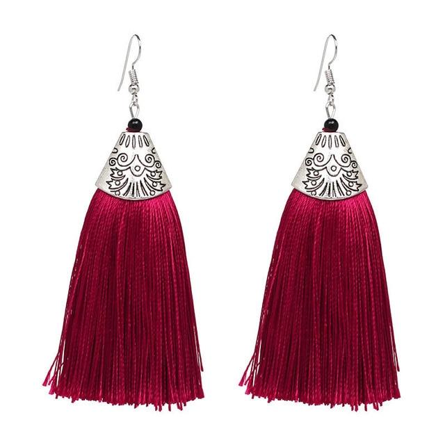 2019 Good quality HOT sale long tassel earring earring for wholesale drop shippi