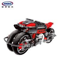 Xingbao 03021 680Pcs Technic Series The Off road Motorcycle Set Building Blocks Bricks Compatible LegoINGlys Technic Motor Model