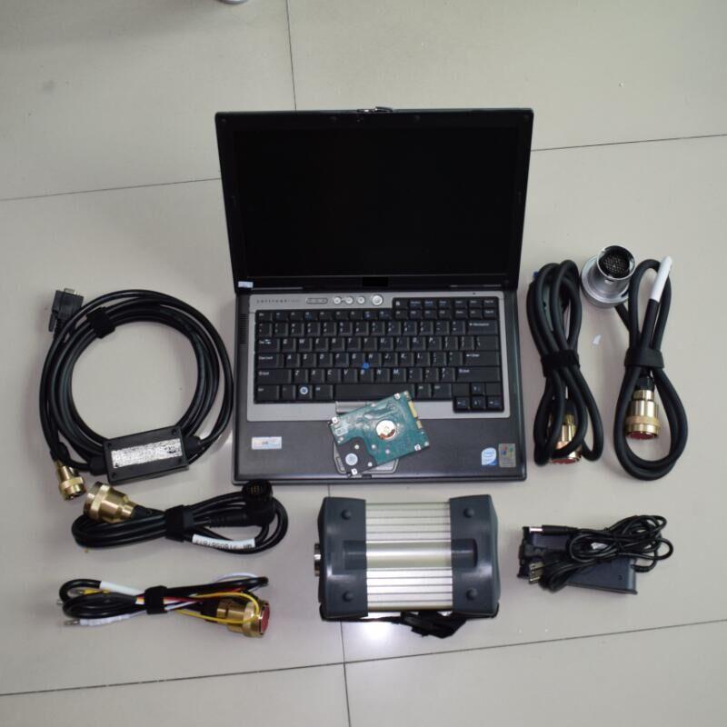 Звезда c3 hdd программное обеспечение с d630 ноутбука ОЗУ 4 Гб полный набор инструменту диагностики мультиплексор с кабелем готовая к применени...