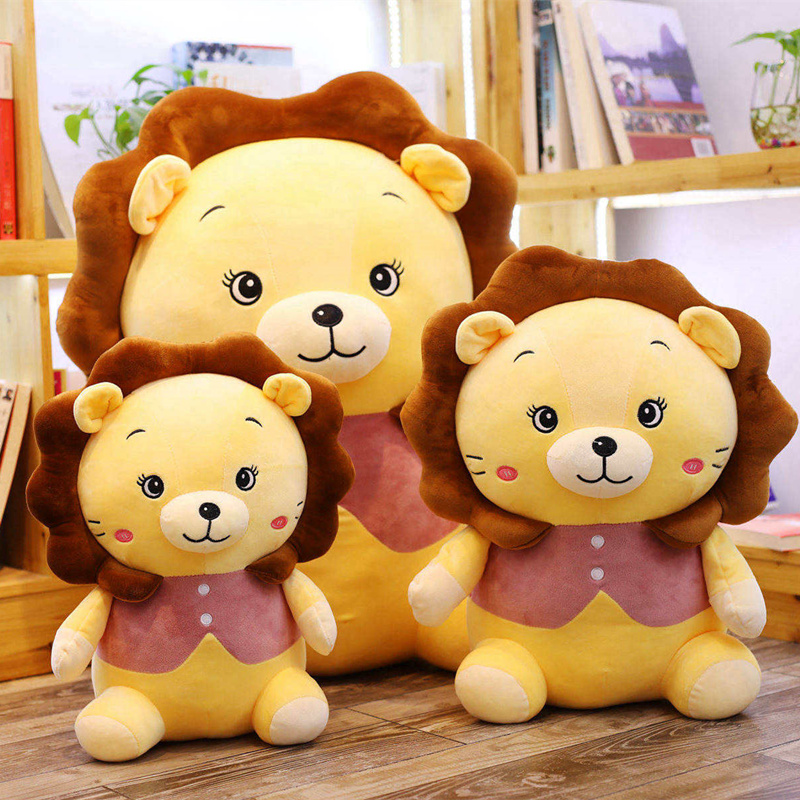 Creative Little Lion Doll Cute Leo Plush Toys Cute Lion Plush Pillow Children Gifts