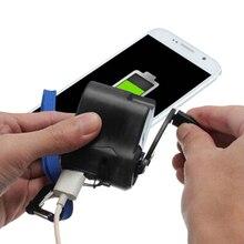 Ручной открытый телефон аварийное зарядное устройство Портативный Ручной USB шатун Динамо-машины для iPhone Xiaomi huawei