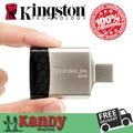 Kingston USB 3.0 SD MicroSD lector de medios todo-en-uno alta velocidad lector de tarjetas para TF SDHC SDXC porción venta al por mayor del ordenador portátil