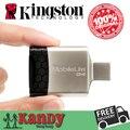 Kingston USB 3.0 SD MicroSD leitor de mídia tudo em um cartão de alta velocidade Reader para TF SDHC SDXC lote por atacado computador portátil