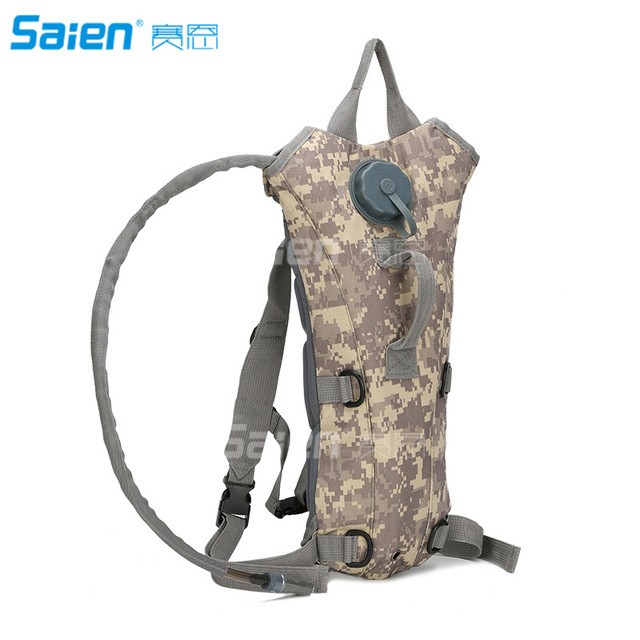 100 Ounce Hydration Pack Bladder Water Bag Pouch Hiking Climbing Survival Outdoor Backpack Red Jacket US Army 3L 3 Liter