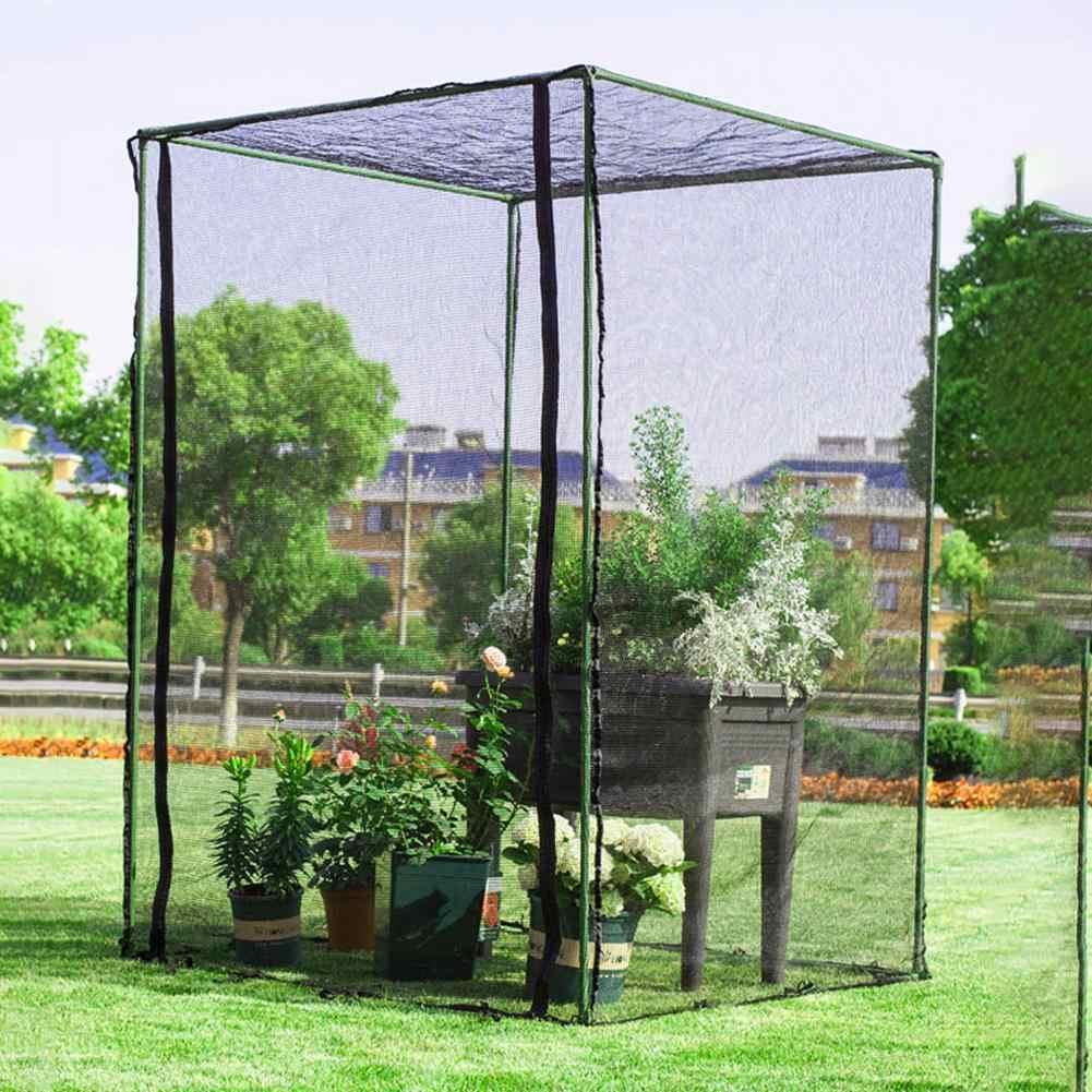 حاجز حديقة 1.5 سنتيمتر طارد الطيور شبك حماية النباتات أشجار الفاكهة شبكة حديقة إضافية قابلة لإعادة الاستخدام حماية دائمة ضد الطيور