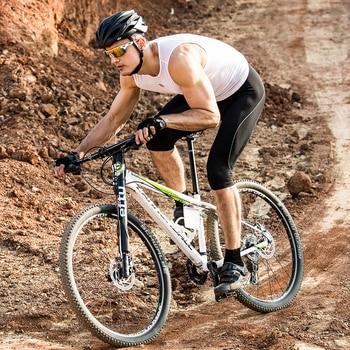 Men's Bike Shorts, 3/4  Padded  , UV Protection, MTB Downhill Men Underpants 26