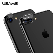 Фотография USAMS Original Brand 0.2mm Ultra-thin Camera Lens Glass Film Protector For iPhone 7 / 7 Plus, 9H Hard, With Full Tool for use