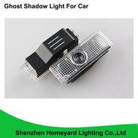 2pc 12V LED Car Door Welcome Light Laser Car Door Ghost Shadow Led Projector Logo For