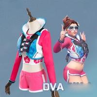New DVA Cosplay Hana Song Wave Breaker Costume Set Cosplay Costume Vest+Top+Pant+Glasses Accessories Halloween Christmas Women