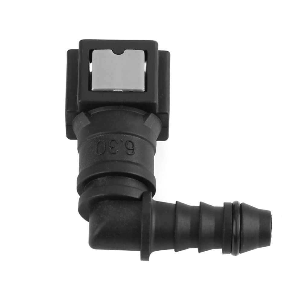 New Fuel Line Quick Release Connect Connector Motorcycle Hose Coupler ID6 Female 6.30mm Elbow Fuel Line Quick Connector